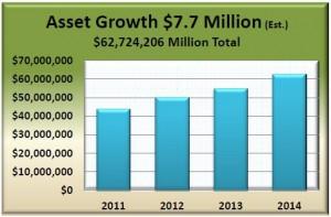 Chart - asset growth