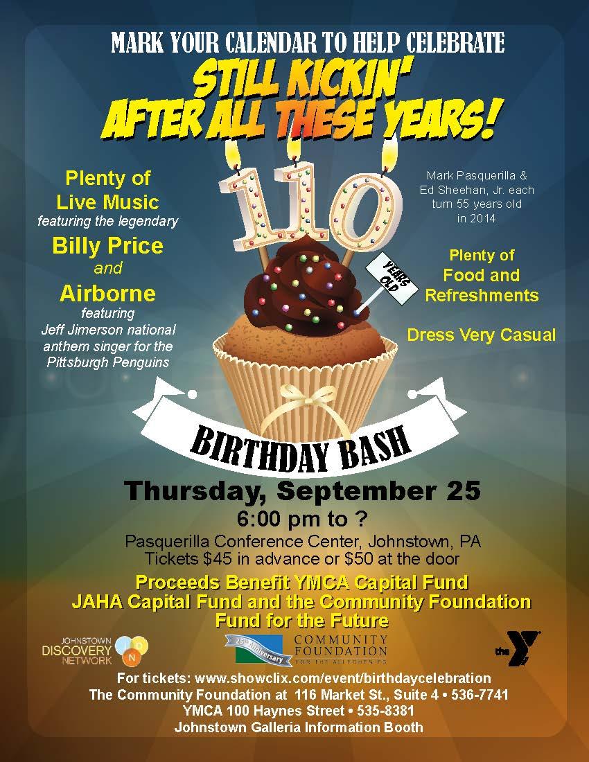 110th Birthday Bash!