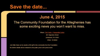 save the date news conference