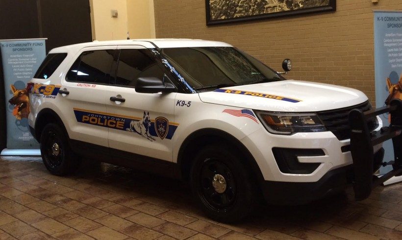 K9 Fund Donates its 3rd Police Vehicle