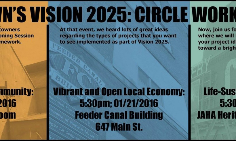 Vision 2025: Vibrant and Open Local Economy