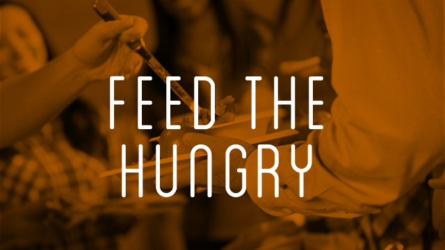 Image result for feeding the hungry
