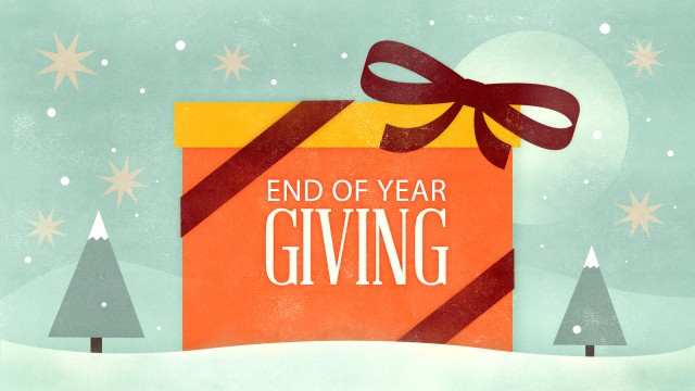 End-of-Year Giving