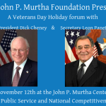 Dick Cheney & Leon Panetta Headline Veterans Day Forum