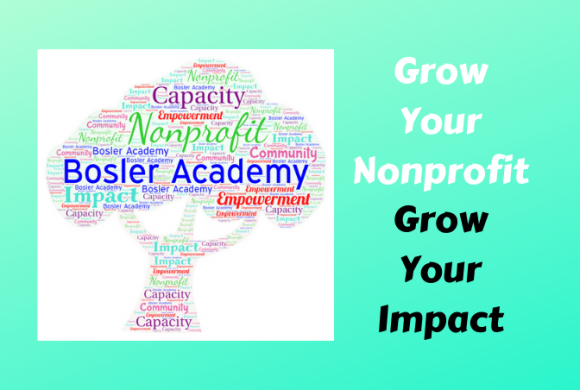 2019 Bosler Academy for Growing Nonprofits