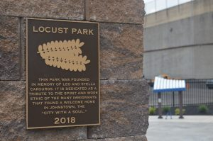 Locust Park in downtown Johnstown was built through a partnership between a family who wanted to honor their parents' legacy and Community Foundation for the Alleghenies