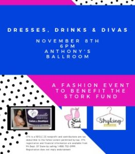 Dresses, Drinks & Divas benefits the Stork Fund at Community Foundation for the Alleghenies