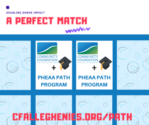 Community Foundation for the Alleghenies is a PHEAA approved PATH program partner