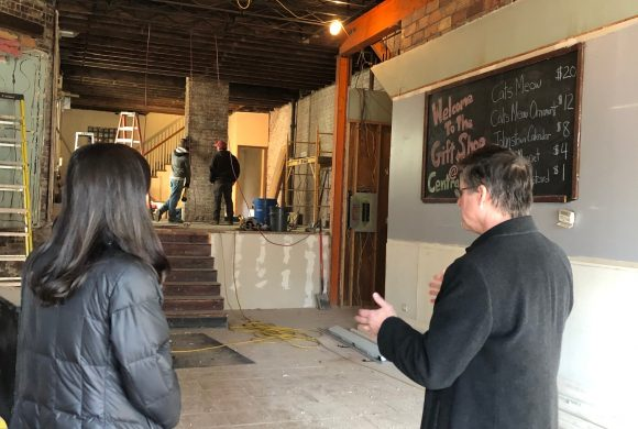 Creator Square is a new makerspace taking shape in a historic building in downtown Johnstown