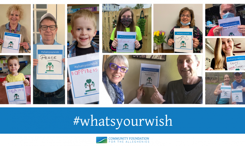 Community Foundation for the Alleghenies has been helping donors make their best wishes for our community come true for the past 30 years
